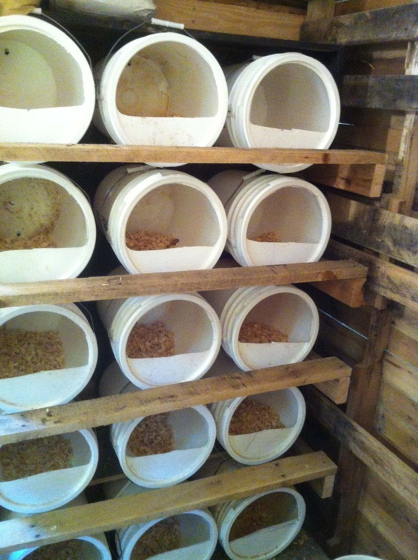 Les pondoirs pour poules fait maison - Maison pour les poules ...